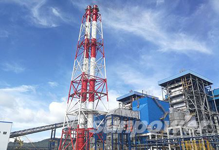 Indonesia Babibalu 2×50MW coal-fired power station project of Shandong Sunshine Engineering Design Institute under the Sunpower Group successfully connected to the grid