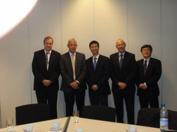 Sunpower Executive Team Visit to BASF Headquarters in Germany